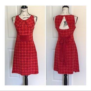 Dresses & Skirts - ❤️Beautiful Red sleeveless dress w keyhole back❤️